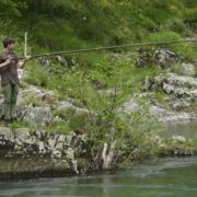 Pesca de salmón en el Sella Asturias