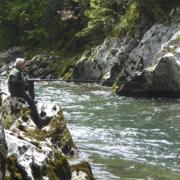 Pesca en el Sella, Asturias