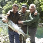 Pesca de salmón en el sella, Asturias