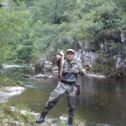 Pesca de Reo en el Esva