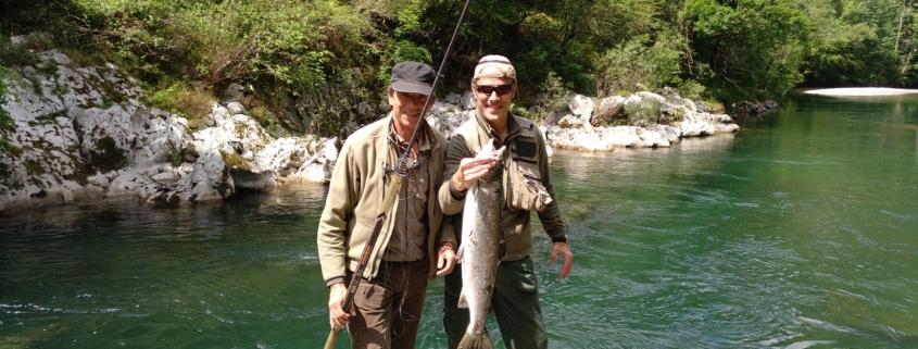 Pesca de Salmón en el Sella, Coto La Cruz