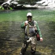 Pesca de Reo en el Sella