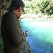 Pescando Salmón en el Coto Jaces río Cares